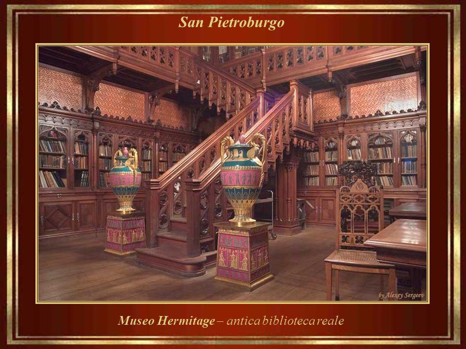 San Pietroburgo Museo Hermitage – interni