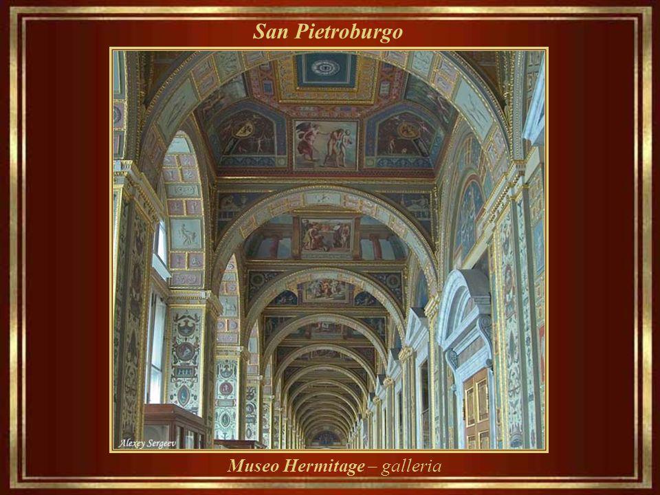 San Pietroburgo Museo Hermitage – antica biblioteca reale