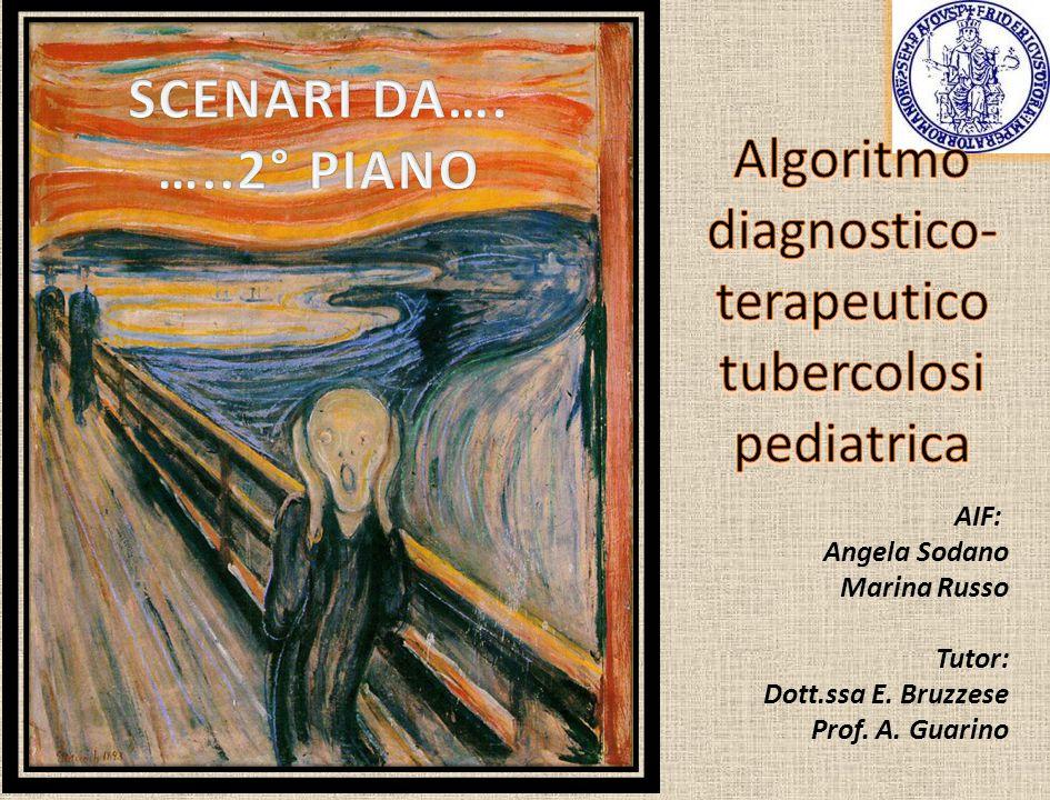 AIF: Angela Sodano Marina Russo Tutor: Dott.ssa E. Bruzzese Prof. A. Guarino