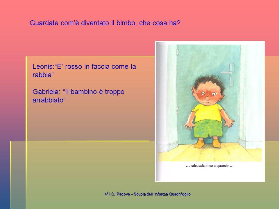 4° I.C. Padova – Scuola dell' Infanzia Quadrifoglio Amalia: Io non mi arrabbio