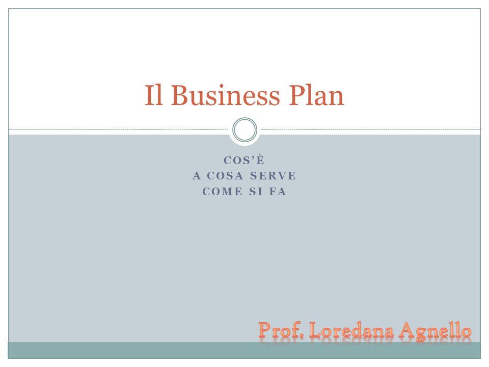 Business plan è lo strumento alla base di un processo di pianificazione sistematico ed efficace E' la sintesi di un processo di analisi e di decisione che risponde a: dove siamo.