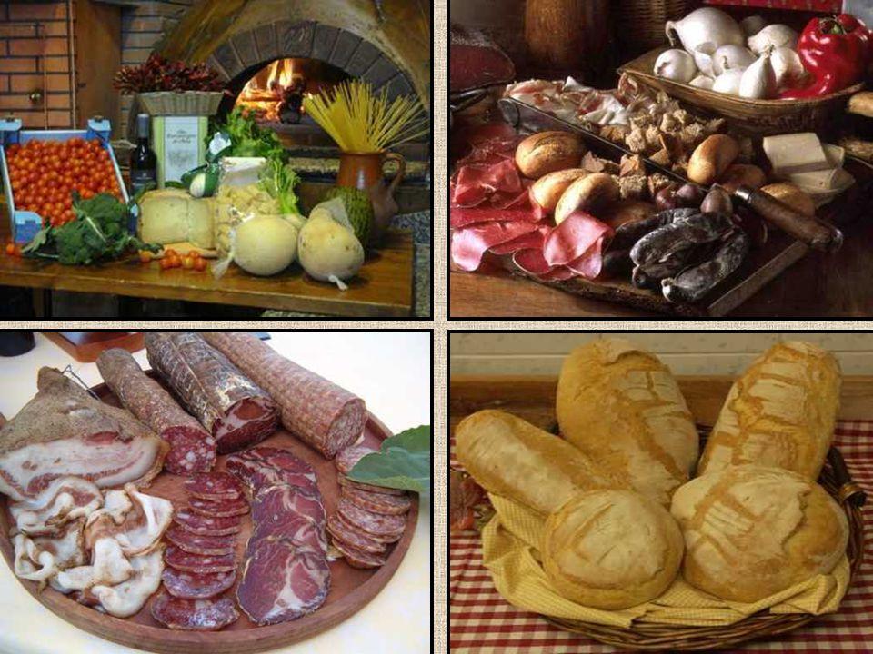 Alcuni prodotti tipici della Basilicata