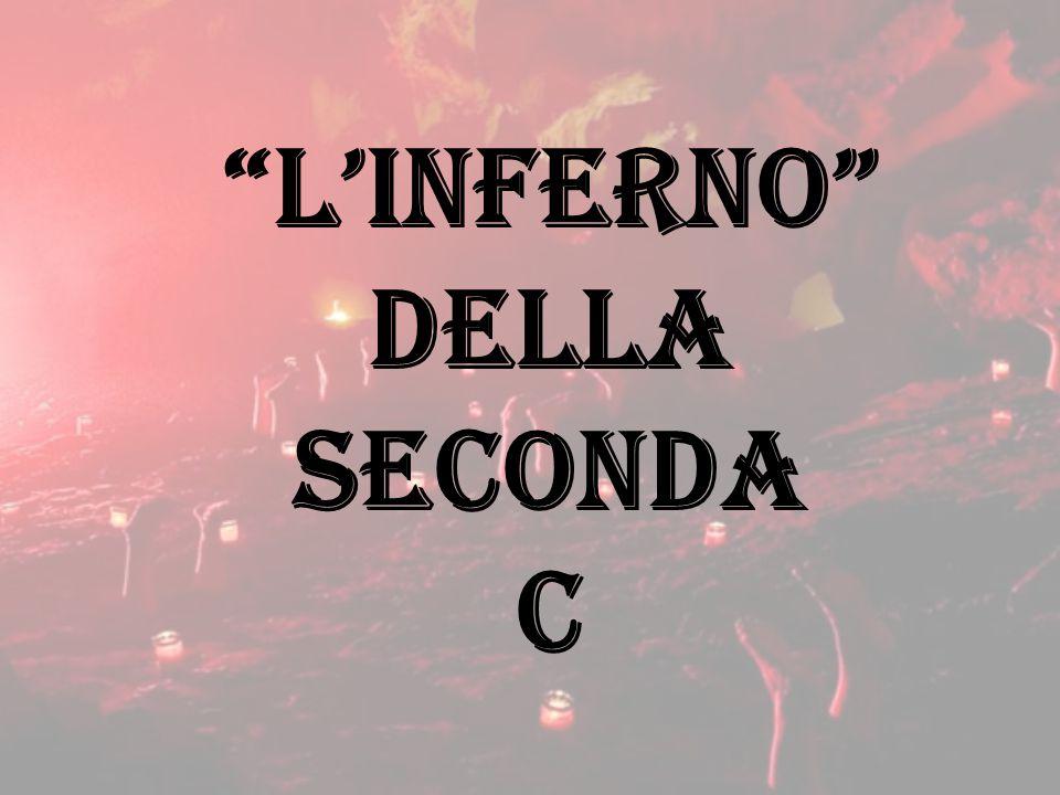 """""""L'INFERNO"""" DELLA SECONDA C"""