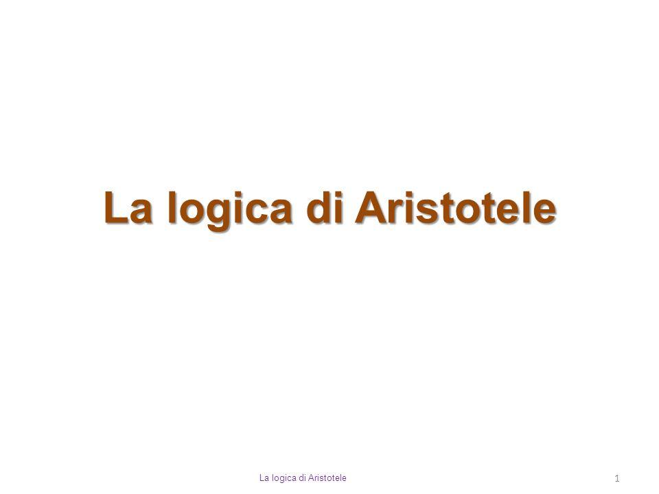 La logica di Aristotele 1