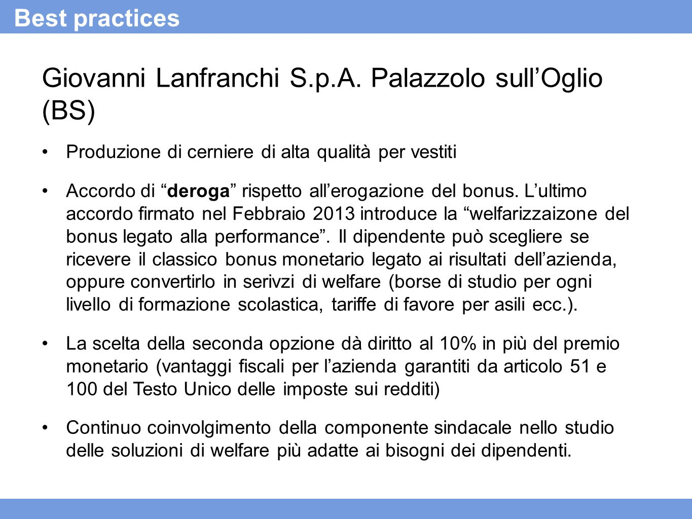 Giovanni Lanfranchi S.p.A.