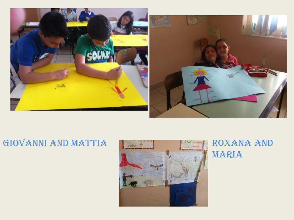 GIOVANNI AND MATTIA ROXANA AND MARIA