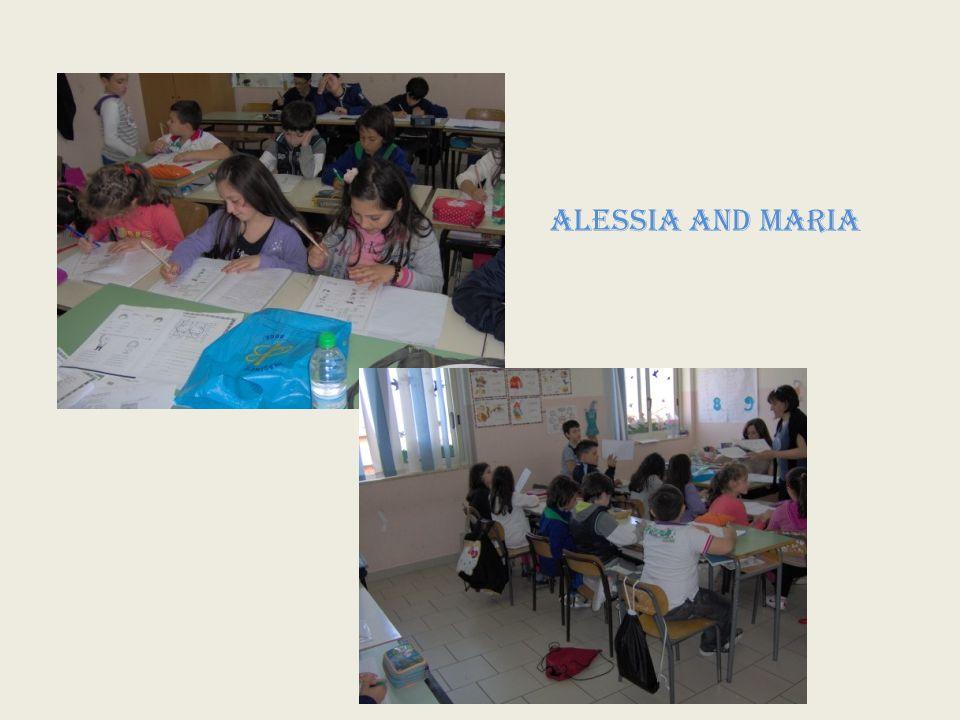 ALESSIA and MARIA