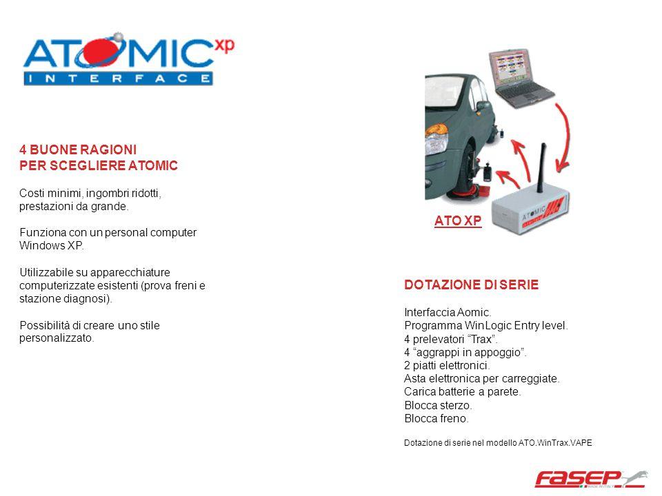 VDP-M Dotazione di serie Carrello VDP-M PC, stampante monitor 17 Interfaccia Aomic.