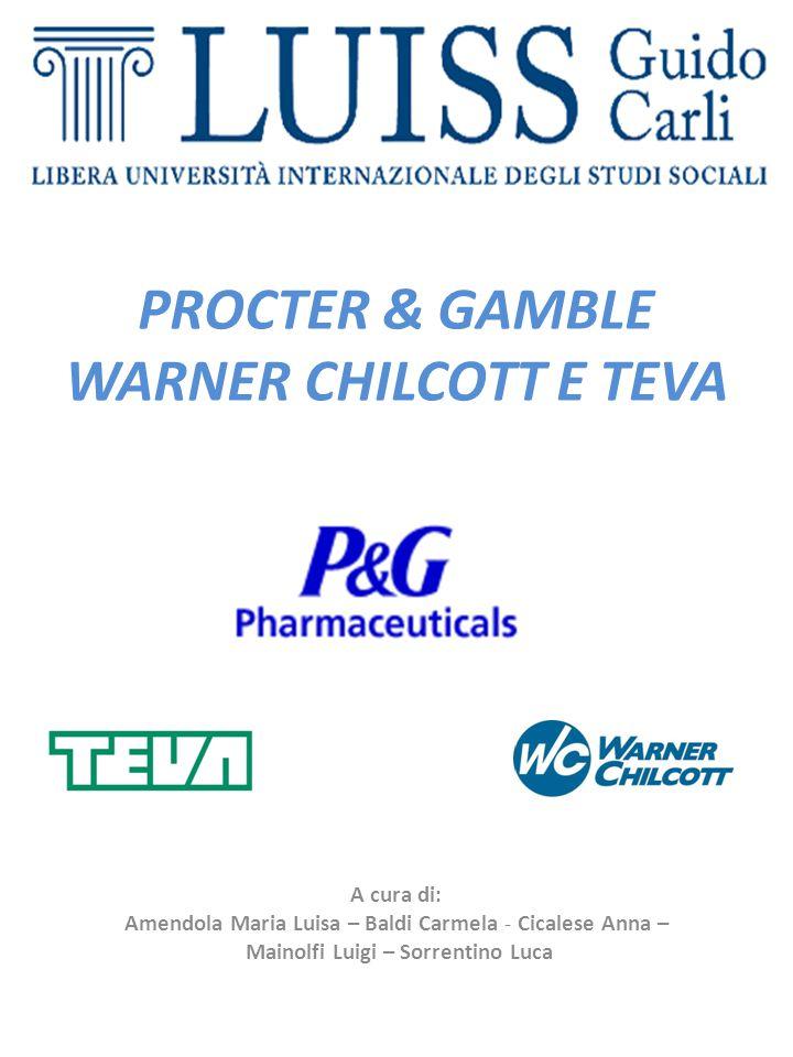 SWOT Analysis sulla joint-venturetraTeva Pharmaceutical Ind. e P&G