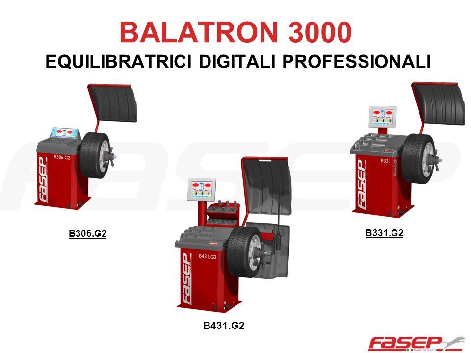 OPZIONI Sistema di misura elettronico larghezza ruota (D).