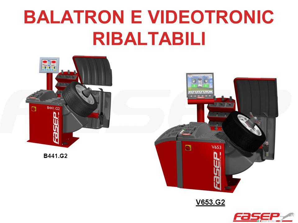 BALATRON E VIDEOTRONIC RIBALTABILI B441.G2 V653.G2