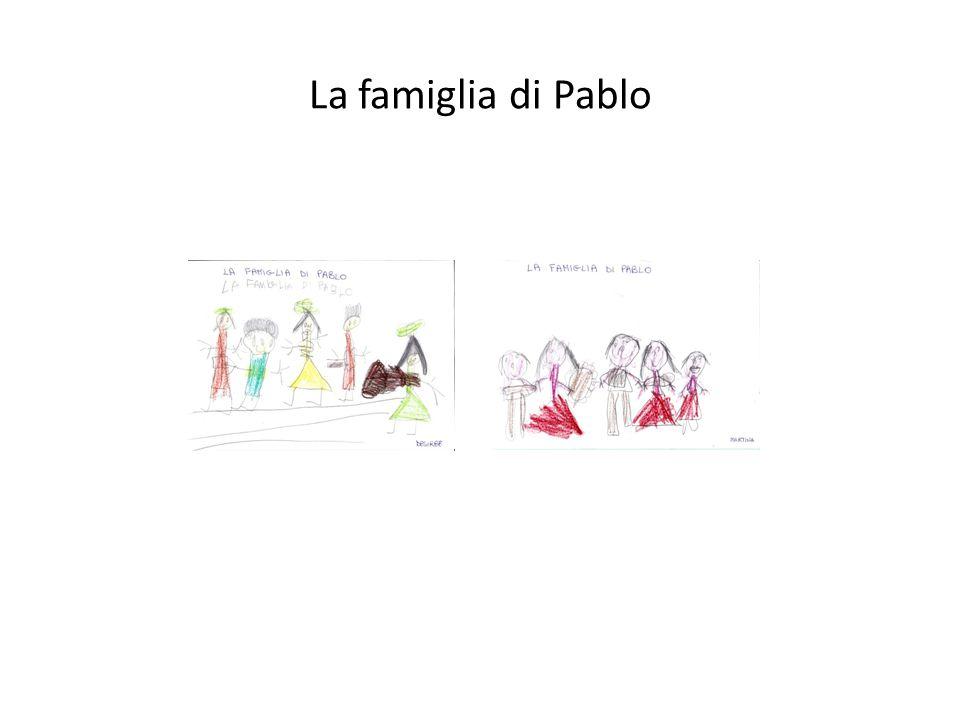 La famiglia di Pablo