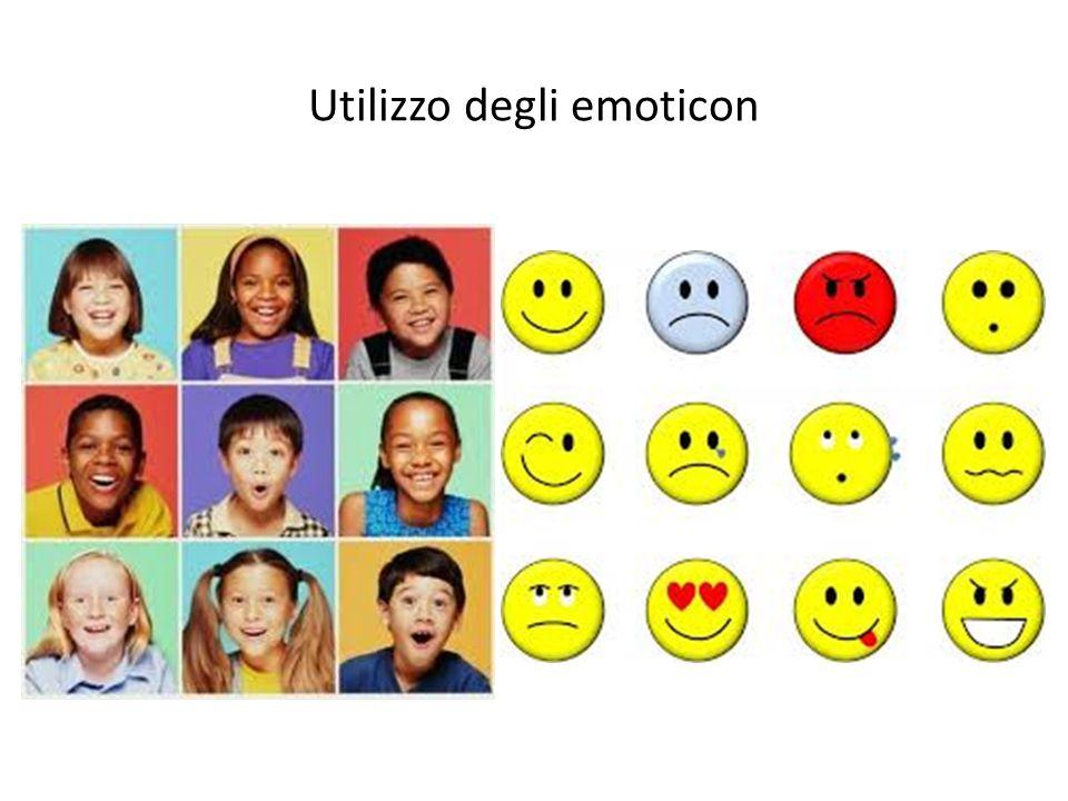 Utilizzo degli emoticon