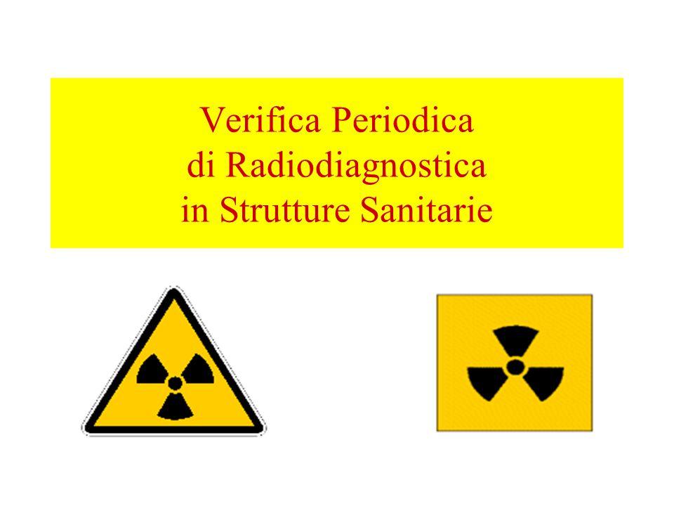 Verifica Periodica di Radiodiagnostica in Strutture Sanitarie