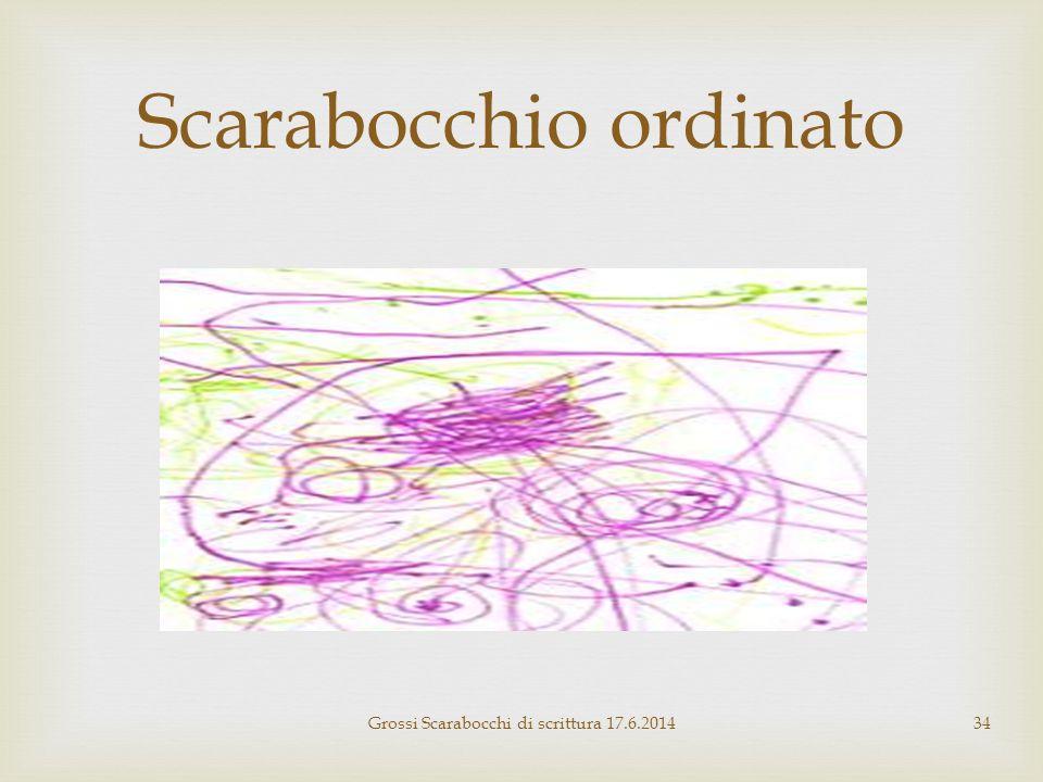 Scarabocchio ordinato Grossi Scarabocchi di scrittura 17.6.201434