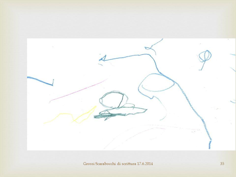 Grossi Scarabocchi di scrittura 17.6.201435