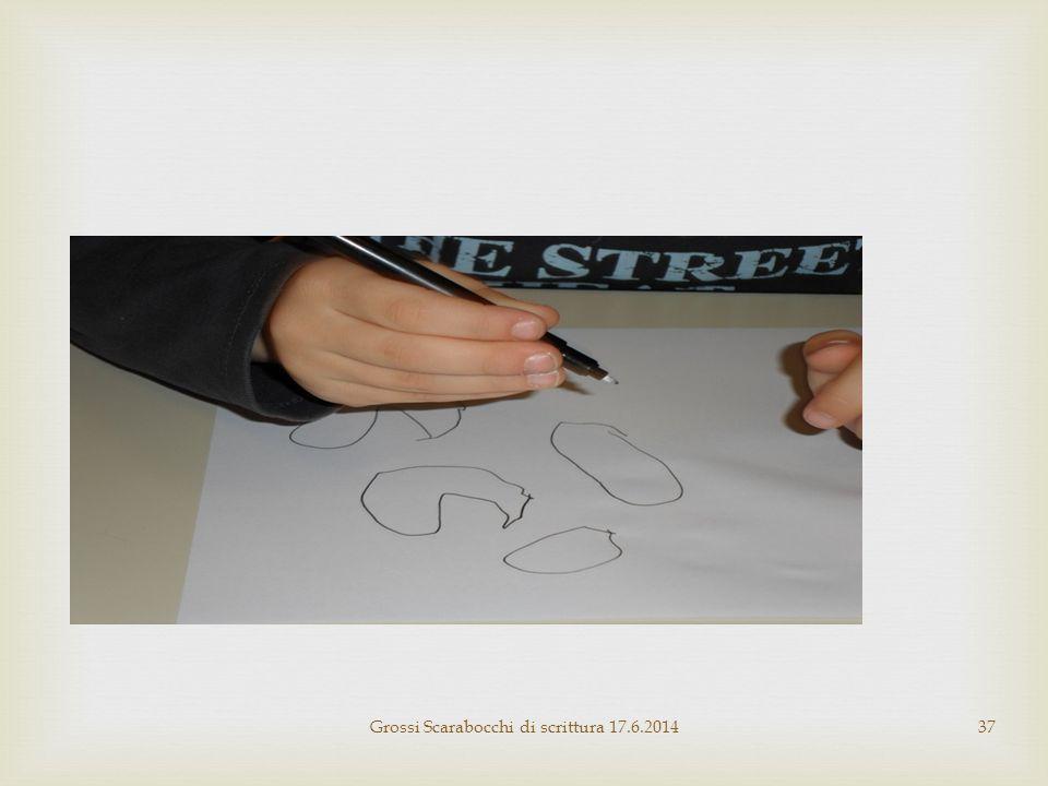 Grossi Scarabocchi di scrittura 17.6.201437