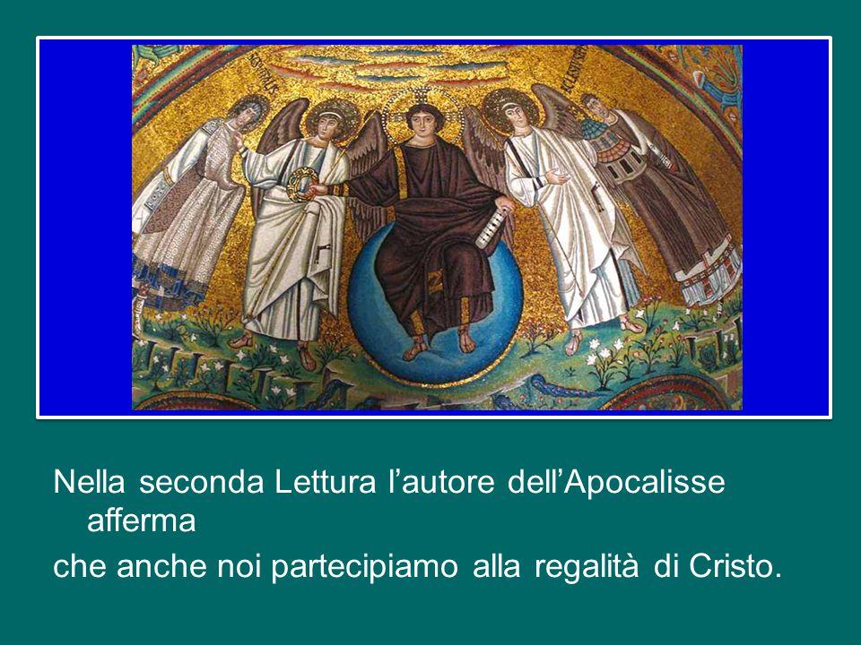 Con ciò comprendiamo come la regalità annunciata da Gesù nelle parabole e rivelata in modo aperto ed esplicito davanti al Procuratore romano, è la reg