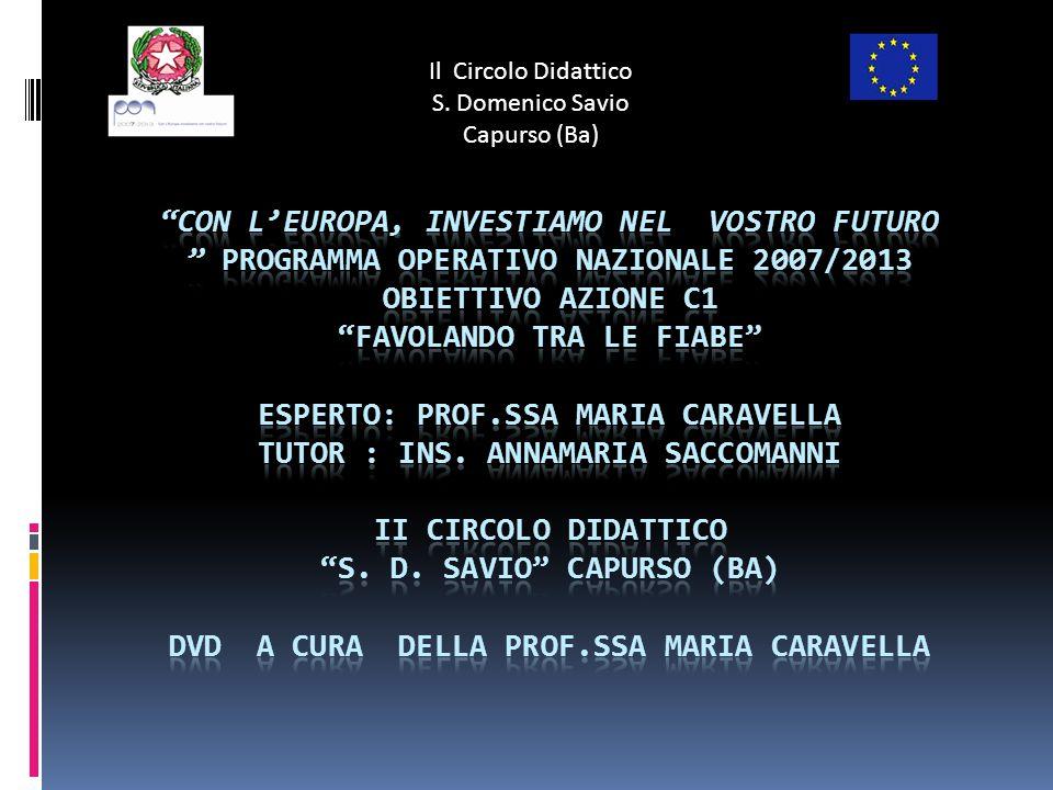 Il Circolo Didattico S. Domenico Savio Capurso (Ba)