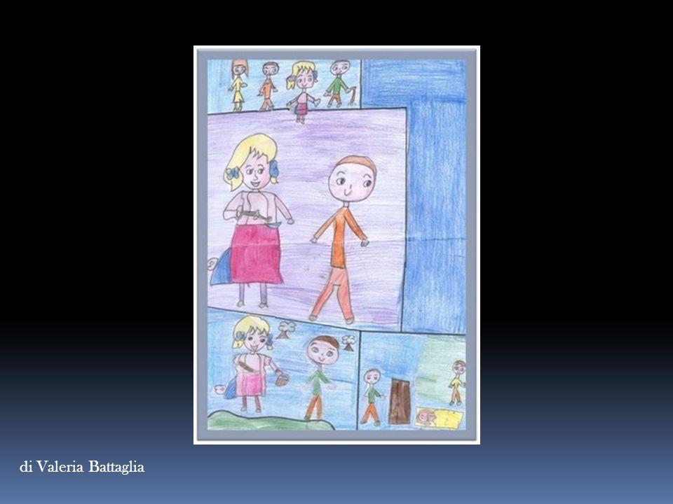 CAPPUCCETTO VIOLA di Marta Mazzarano C' era una volta una bambina che abitava nel centro storico, chiamata da tutti Cappuccetto viola, perché indossava sempre una mantellina di colore viola.