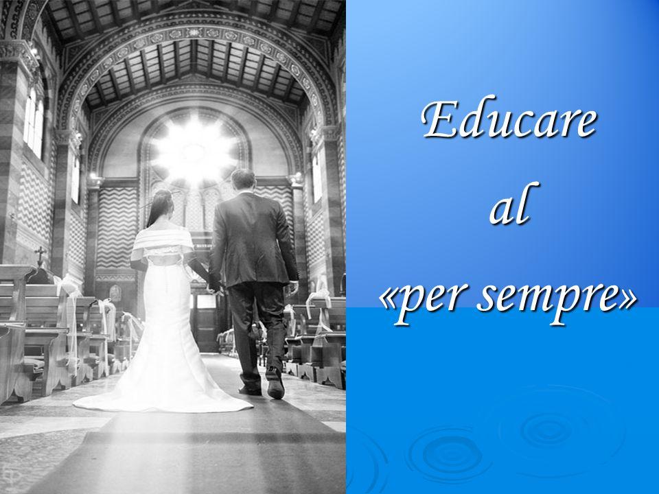 Gli sposi ministri dell'amore Lo Spirito rivestì di fecondità nuova la Chiesa sua Sposa