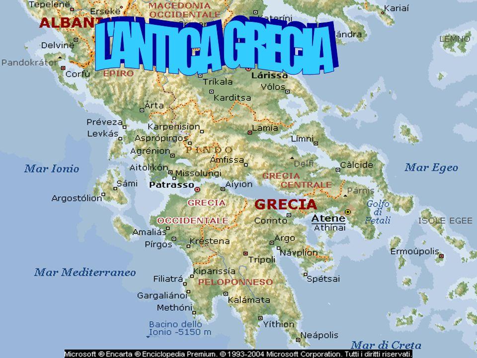 Nel v secolo a.C., abitavano in Grecia, sulle isole del mar Egeo e nelle colonie, sulle sponde del mar Nero, in Asia Minore e Peloponneso, nell' Italia meridionale, cioè in Puglia, Calabria, Campania e Sicilia, che presero il nome di Magna Grecia:Grande Grecia.