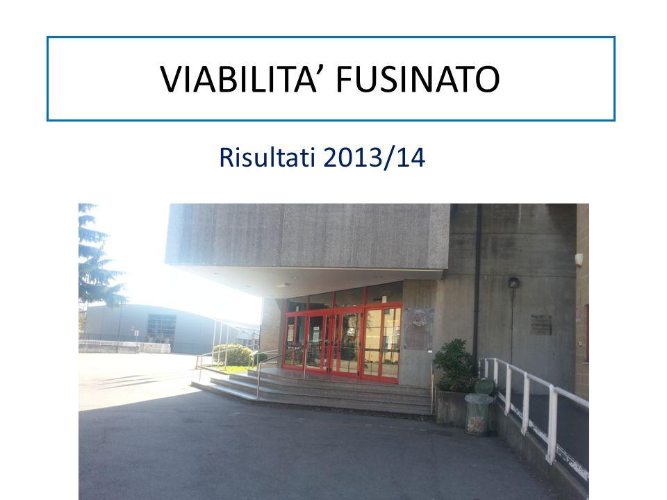 VIABILITA' FUSINATO Risultati 2013/14