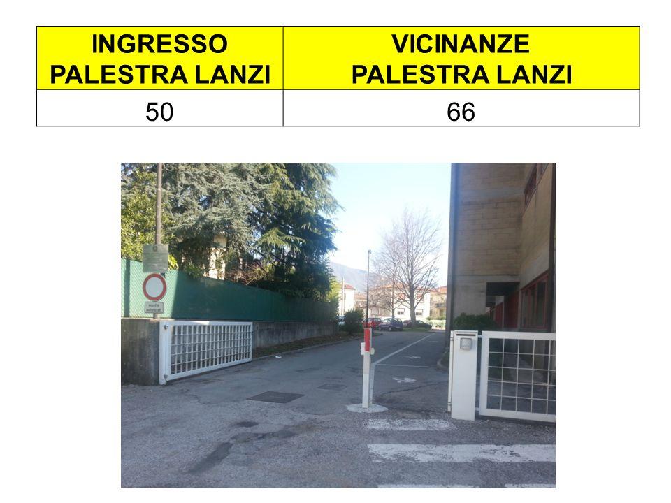 INGRESSO PALESTRA LANZI VICINANZE PALESTRA LANZI 5066