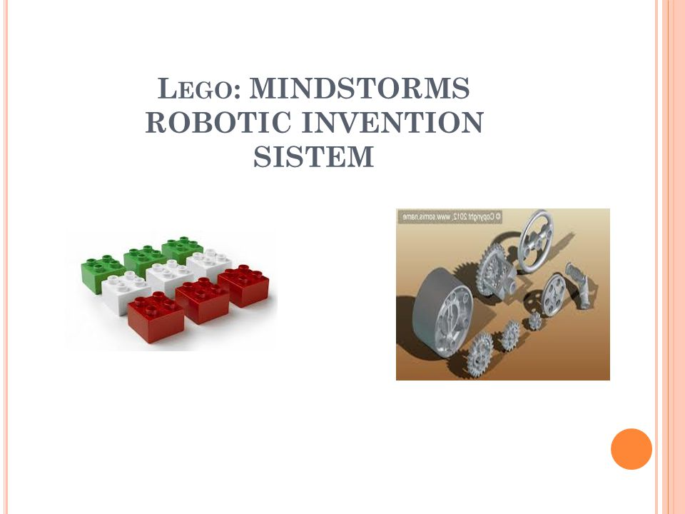 L EGO : MINDSTORMS ROBOTIC INVENTION SISTEM