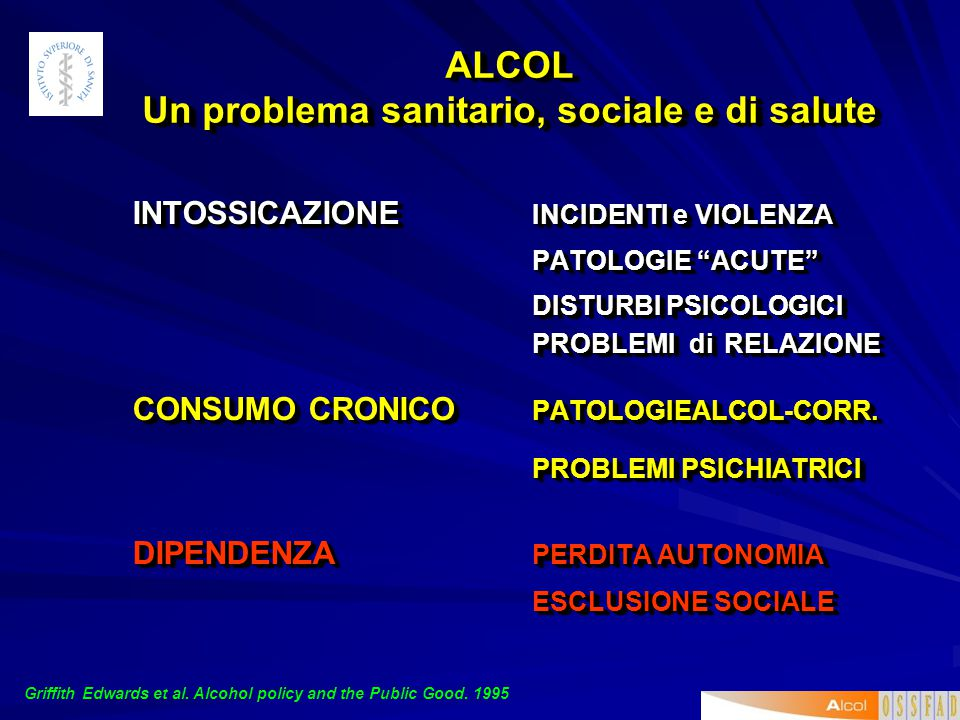 Gli individui che non bevono non possono e non devono essere sollecitati a modificare il proprio atteggiamento poiché non esistono allo stato attuale
