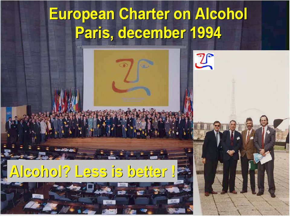 "ALCOL E SALUTE STRATEGIE Europee EU EU - EU Recc. ""Drinking of children and adolescents"" - Community action in the field of public health (2001-2006)"