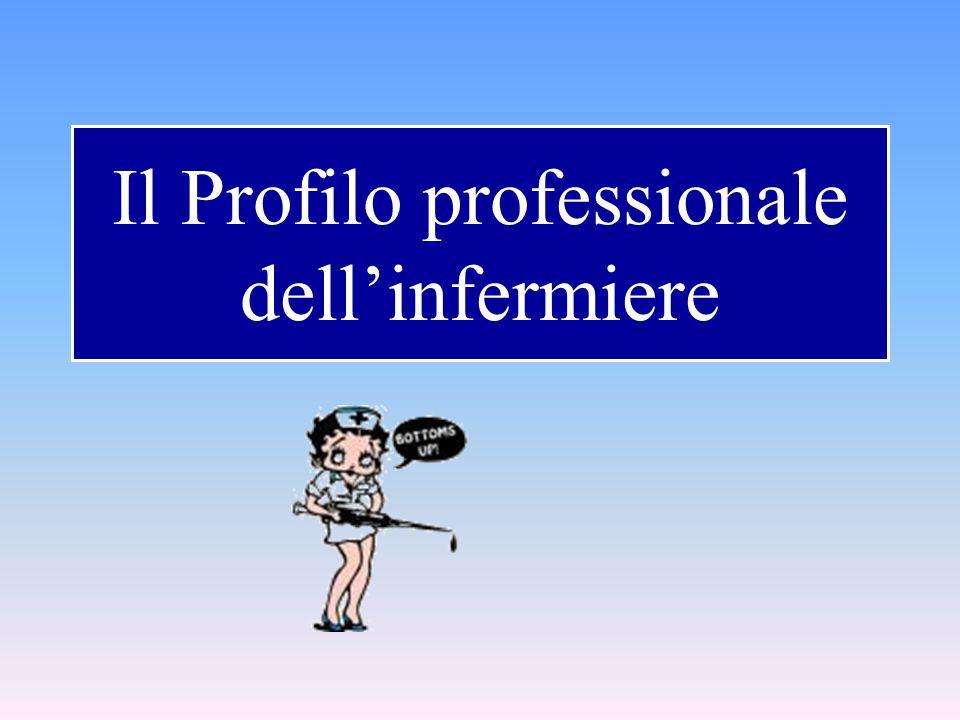 Il Profilo professionale dell'infermiere