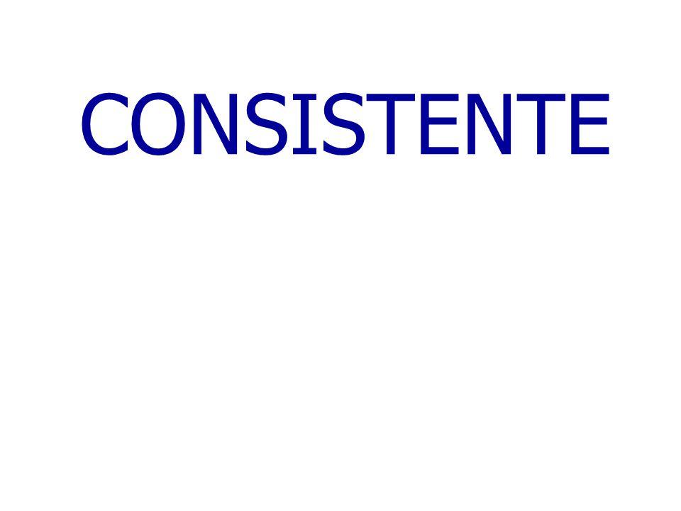CONSISTENTE