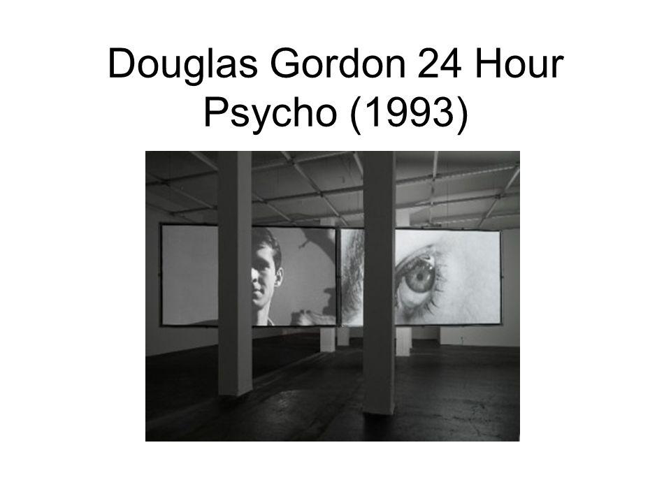 Douglas Gordon 24 Hour Psycho (1993)