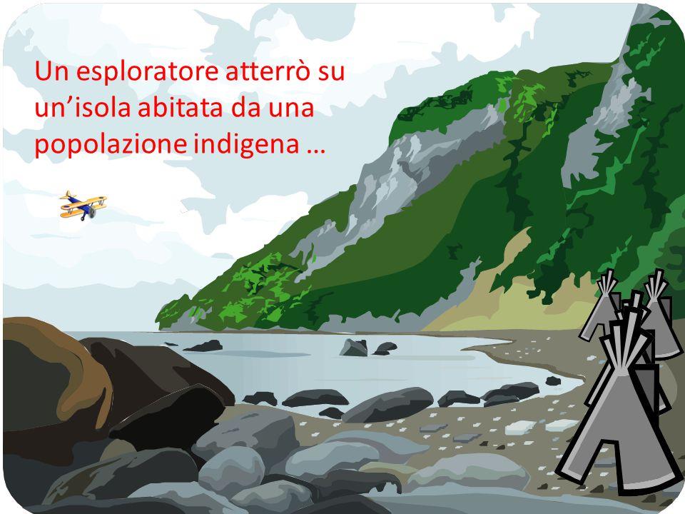 Un esploratore atterrò su un'isola abitata da una popolazione indigena …