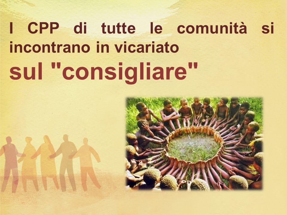 I CPP di tutte le comunità si incontrano in vicariato sul consigliare