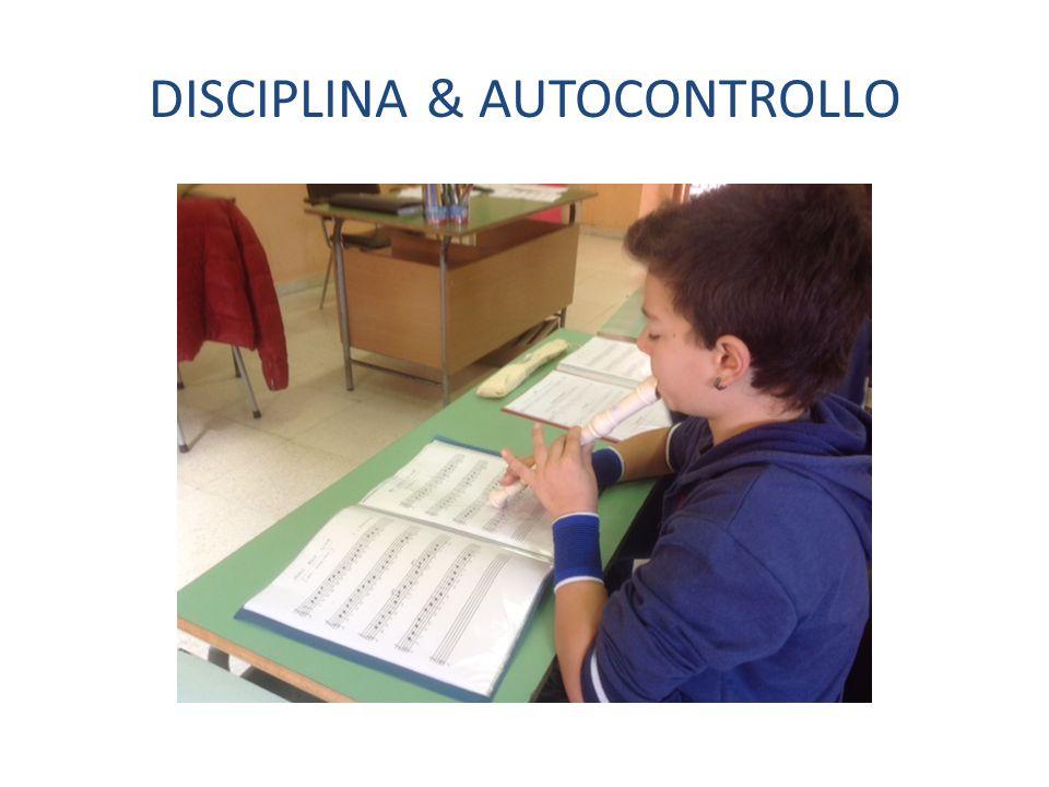 DISCIPLINA & AUTOCONTROLLO