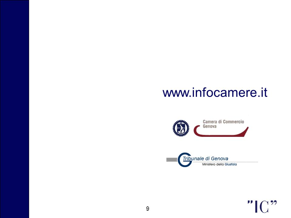 9 www.infocamere.it