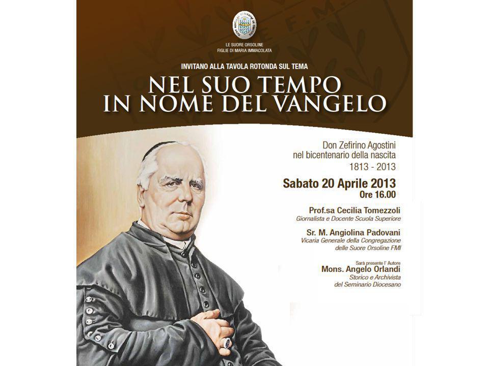 In occasione del Bicentenario verrà presentata la biografia scritta da Mons.