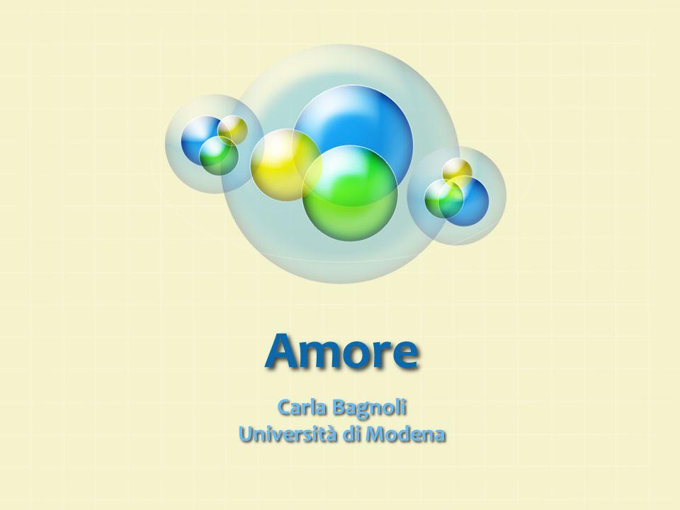 Amore Carla Bagnoli Università di Modena