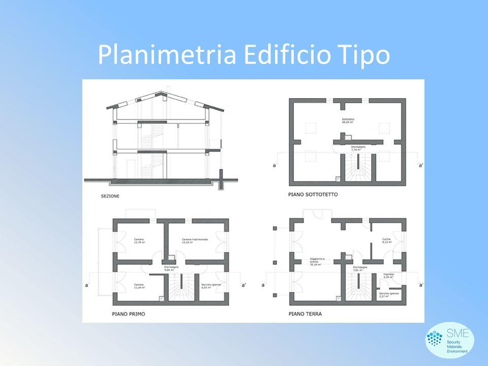 Planimetria Edificio Tipo