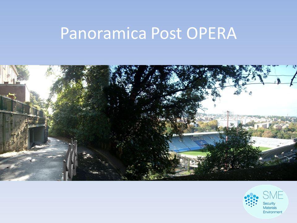 Panoramica Post OPERA
