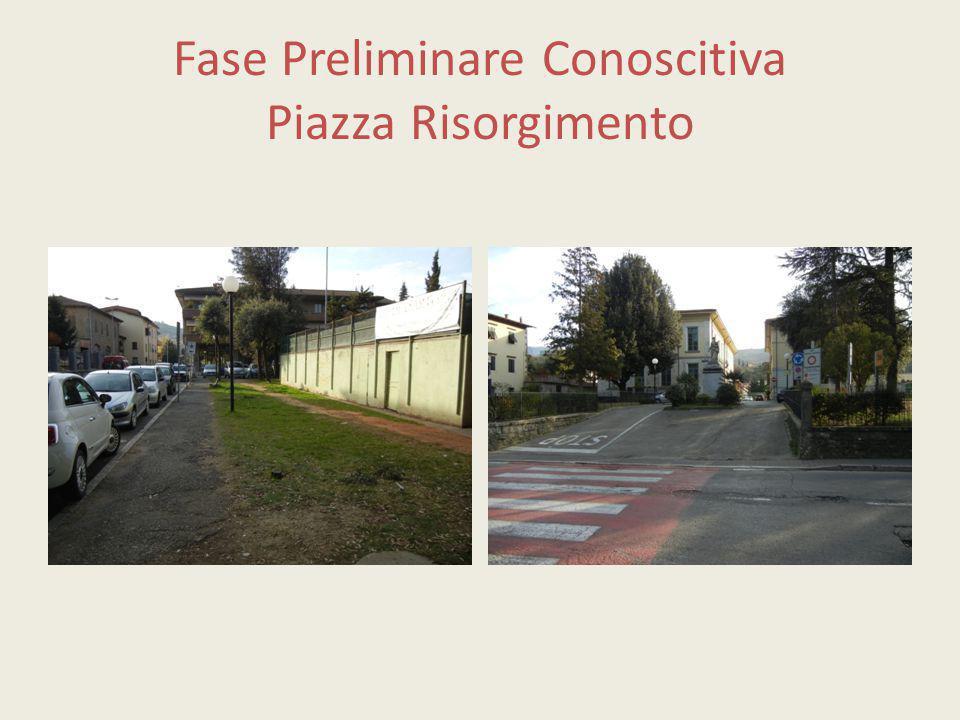 Fase Preliminare Conoscitiva Piazza Risorgimento