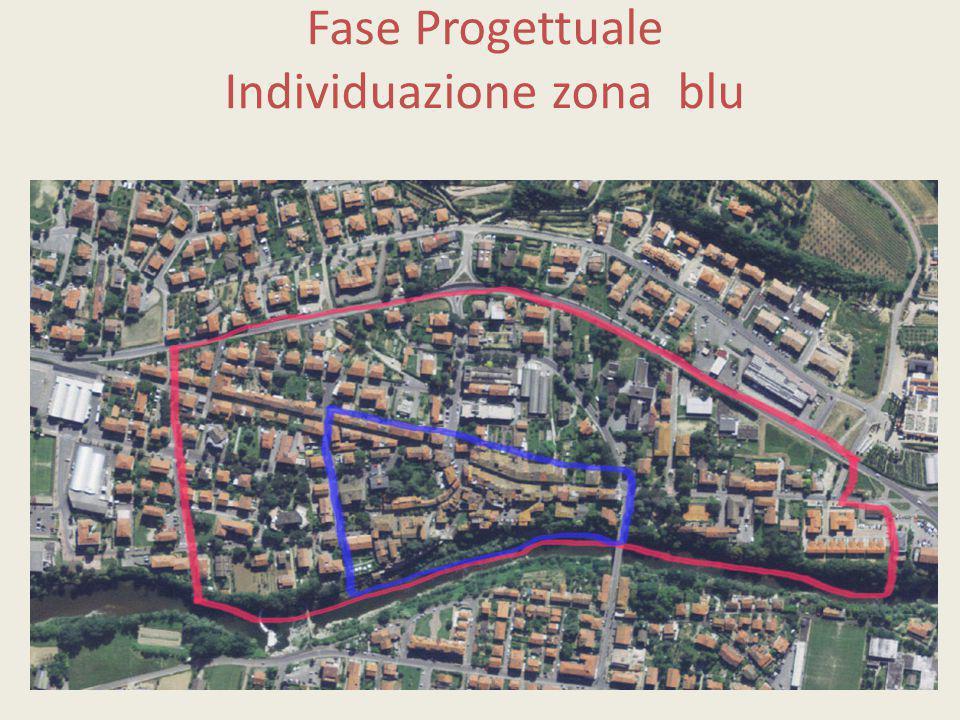 Fase Progettuale Individuazione zona blu