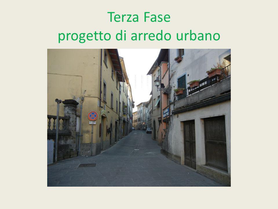 Terza Fase progetto di arredo urbano