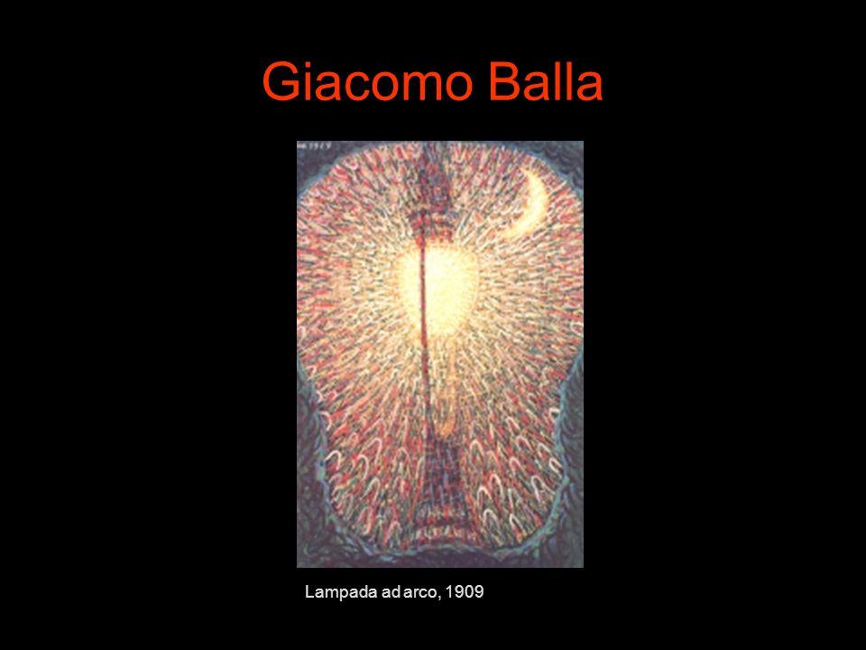Giacomo Balla Lampada ad arco, 1909