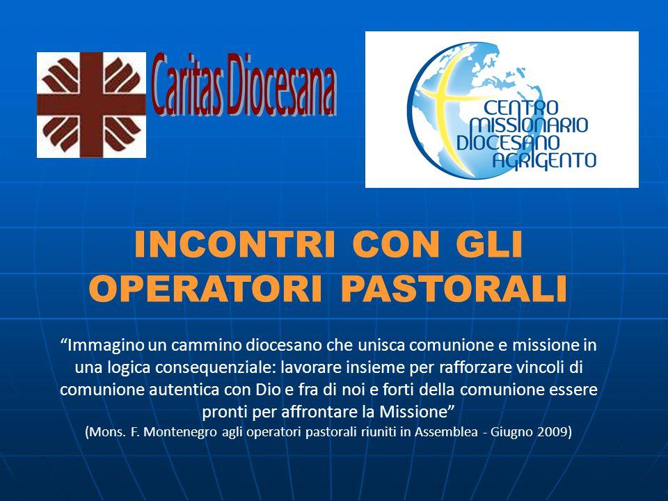 L'UFFICIO MISSIONARIO DIOCESANO Martedì e Giovedì dalle ore 10 alle12,30 Via Duomo, 96 - Tel.