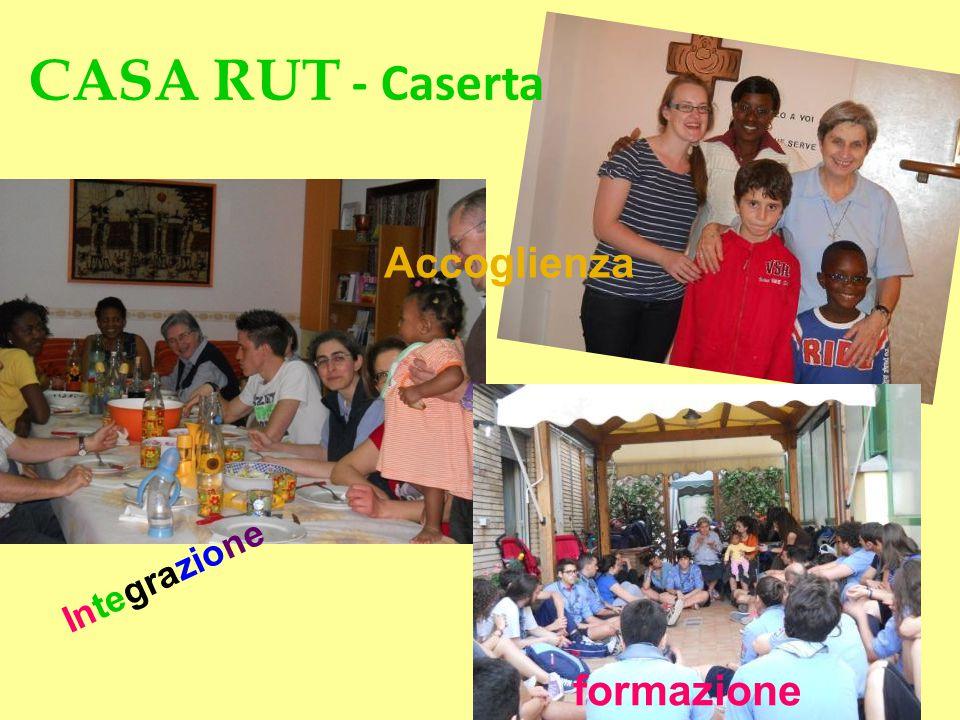 CASA RUT - Caserta Integrazione Accoglienza formazione