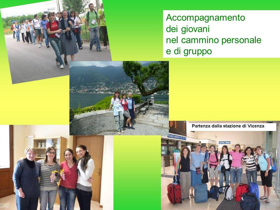 Accompagnamento dei giovani nel cammino personale e di gruppo