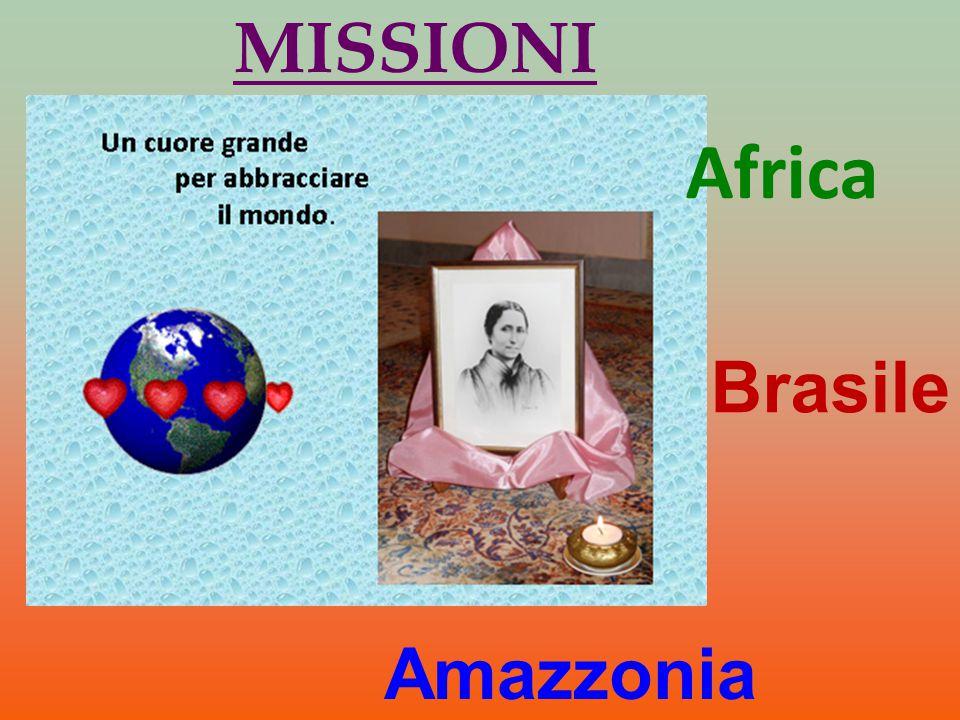 MISSIONI Africa Brasile Amazzonia